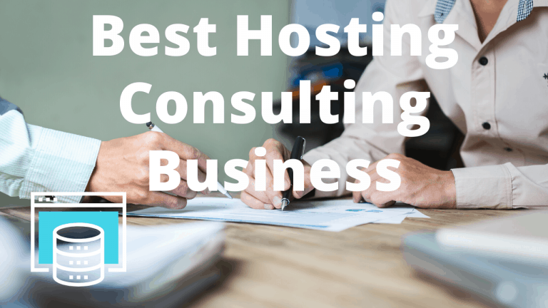 best web hosting for consulting business