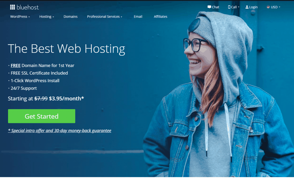 Best Web Hosting For Churches bluehost website design cost
